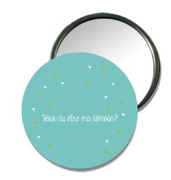 Bar à Badge Miroir