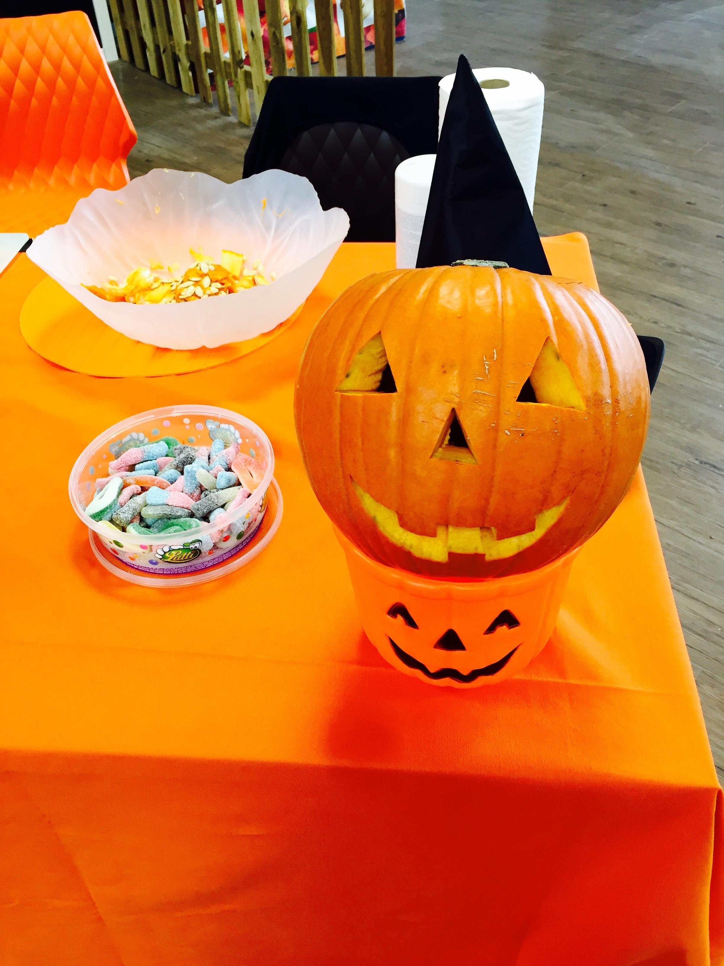 Creation of Pumpkins