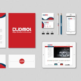 Duomol Logo and Stationary