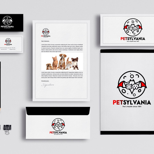 Petsylvania Logo and Stationary