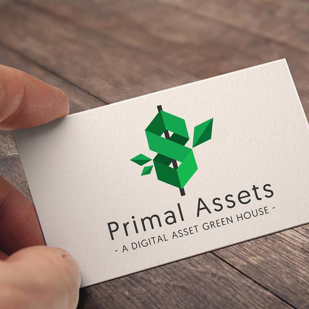 Primal Assests Logo Design
