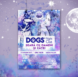 Dogs' Night Out Poster
