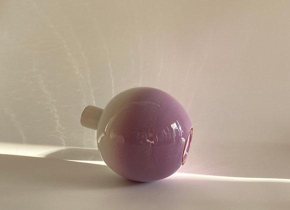Smoked Neo Tolteca  / 23 cm tall / Lilac to White