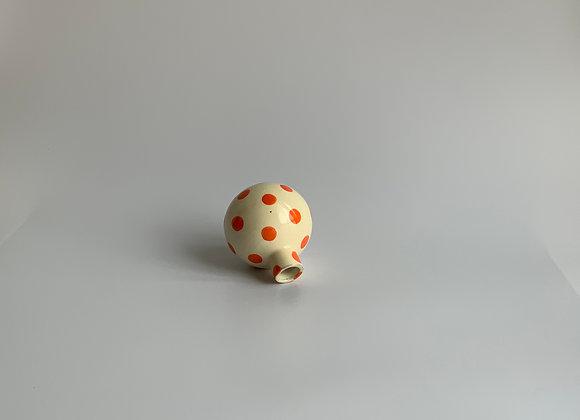 Neo tolteca  orange dots /  10cm tall / Orange