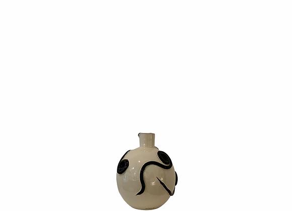Snail Neo Tolteca / 25  cm tall / Black and white