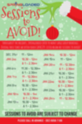 Copy of Christmas Grinch Party Poster (1