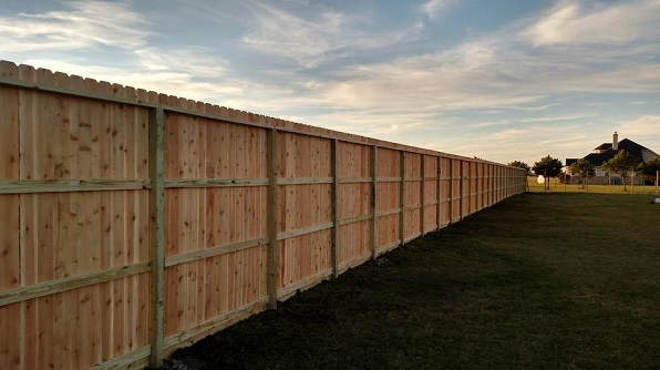 Custom Wood Fencing in Katy