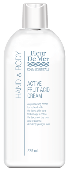 FLEUR DE MER  FRUIT ACID HAND & BODY CREAM