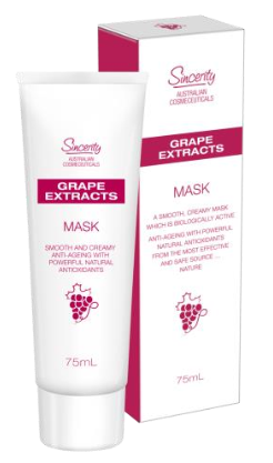 FLEUR DE MER SINCERITY GRAPE EXTRACTS MASK