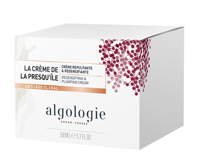 ALGOLOGIE GLOBAL ANTI-AGEING REDENSIFYING & PLUMPING CREAM DE LA PRESQU'ILE
