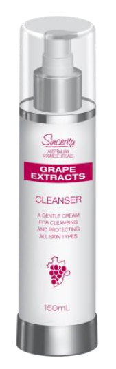 FLEUR DE MER SINCERITY GRAPE EXTRACTS CLEANSER
