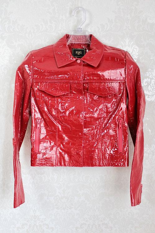 Jaqueta Bobô verniz vermelha #20-279