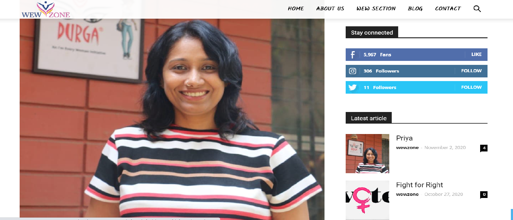 Interview with Priya Vardarajan