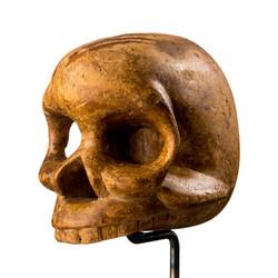 Wooden Tikar Skull, Cameroon