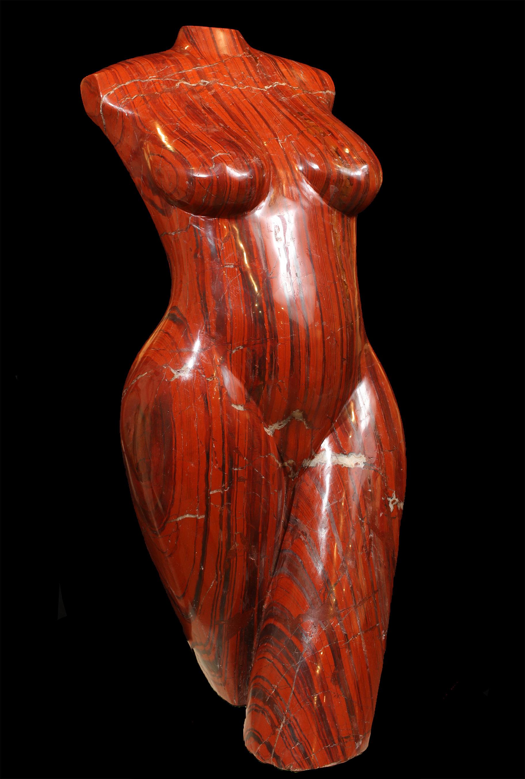 Red Jasper Torso