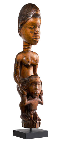 Baule Mother with Child, Ivory Coast