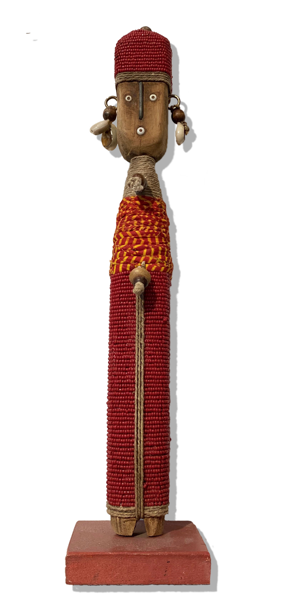 Beaded Doll, Cameroon