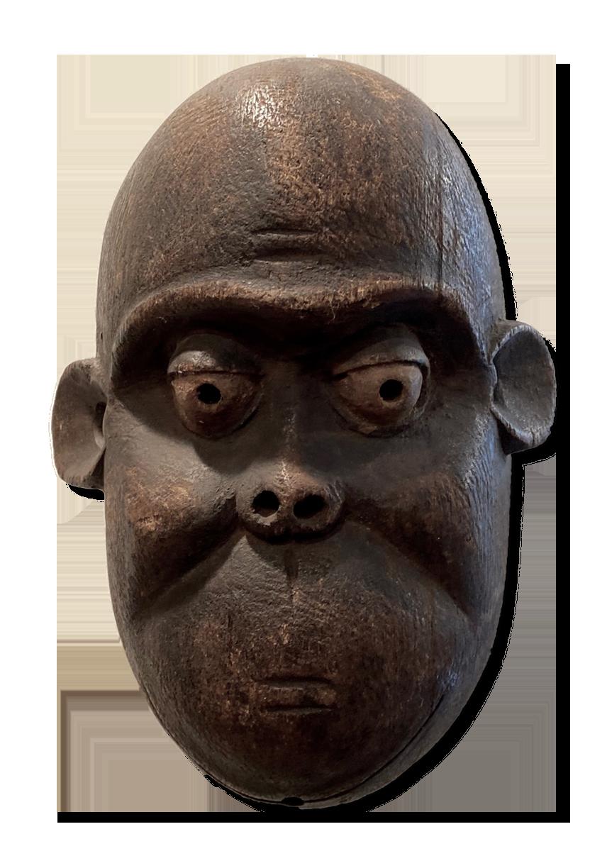Chimpanzee Mask, D.R. Congo