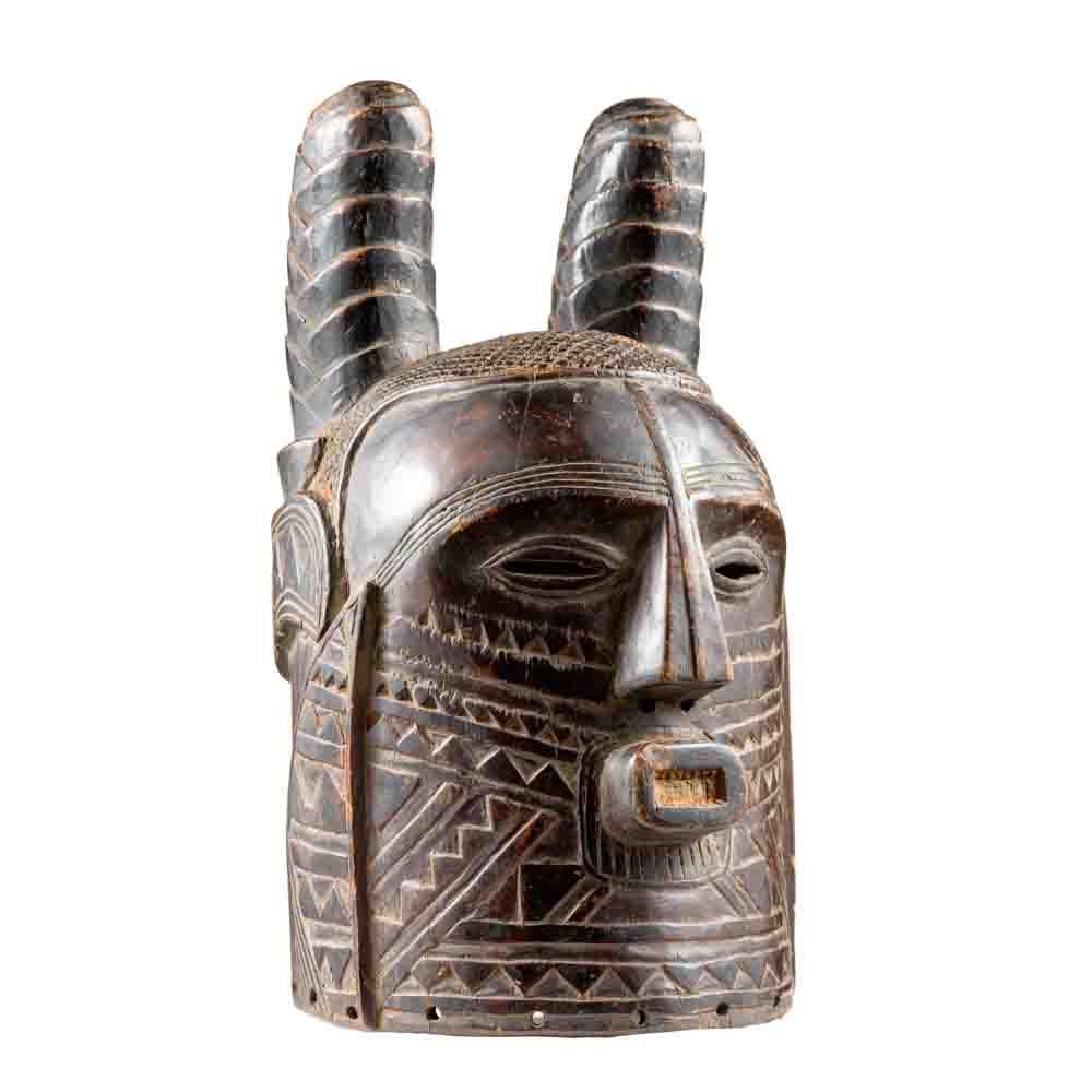 Kuba Helmet Mask, D.R. Congo
