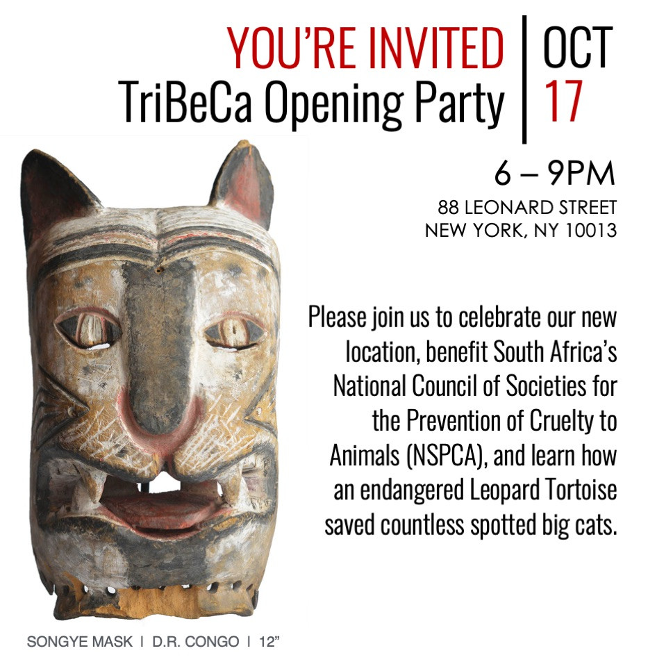 Oct 17 Tribeca Opening Party Invite