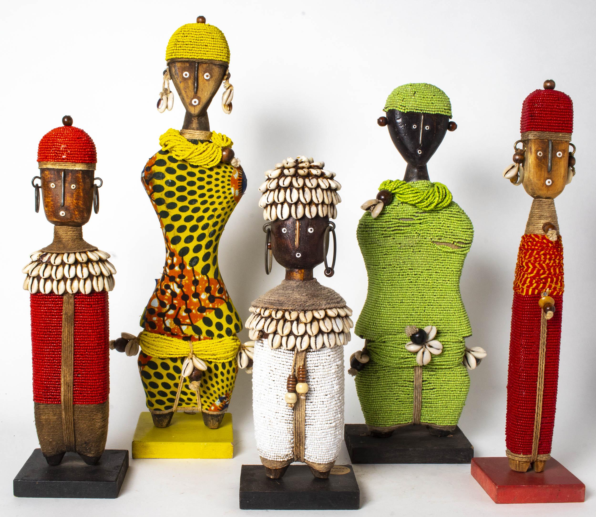 Beaded Dolls, Cameroon