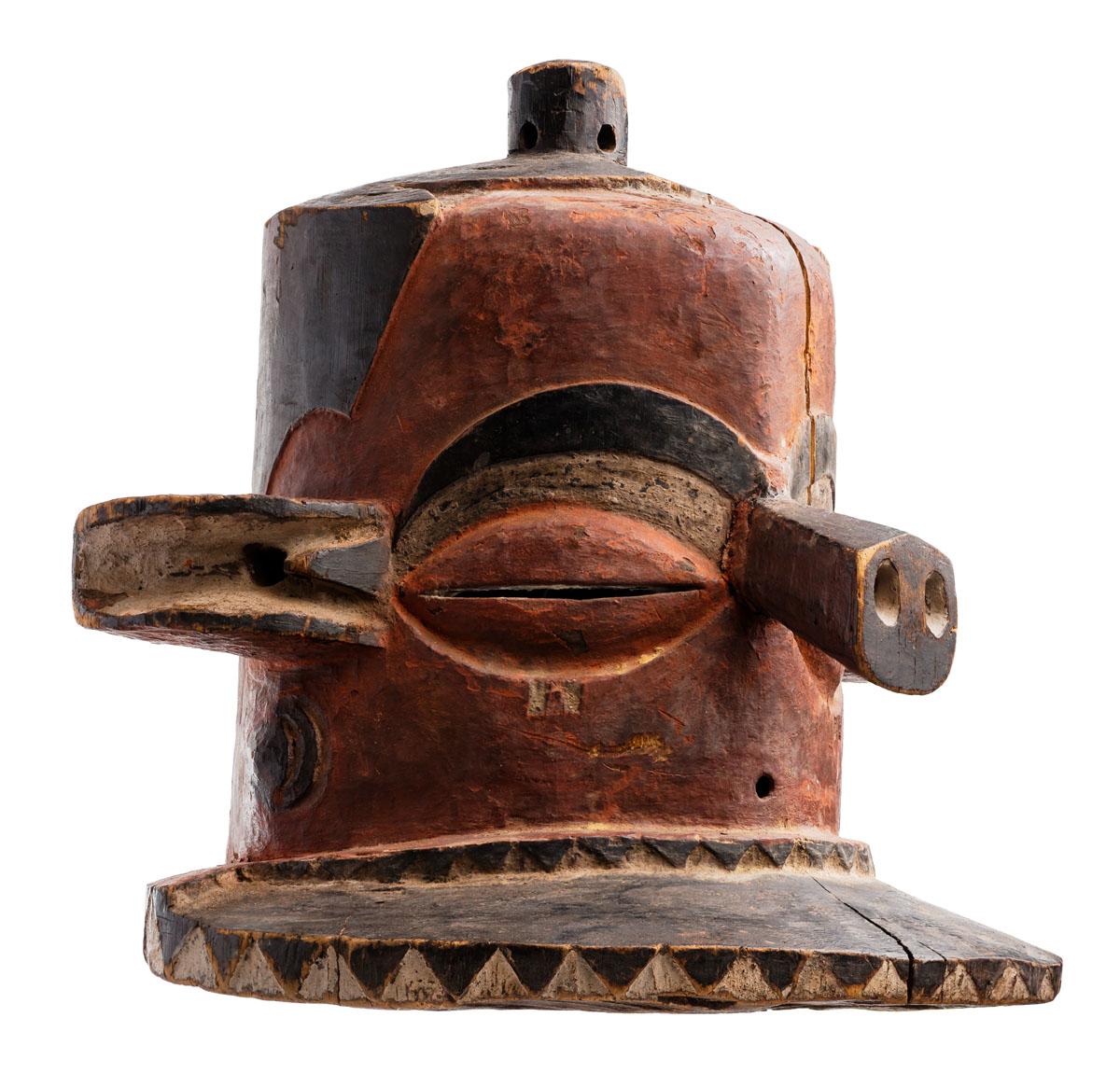 Pende Helmet Mask, Congo