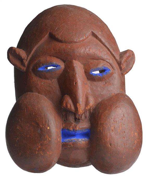 Bamum Mask, Cameroon-37