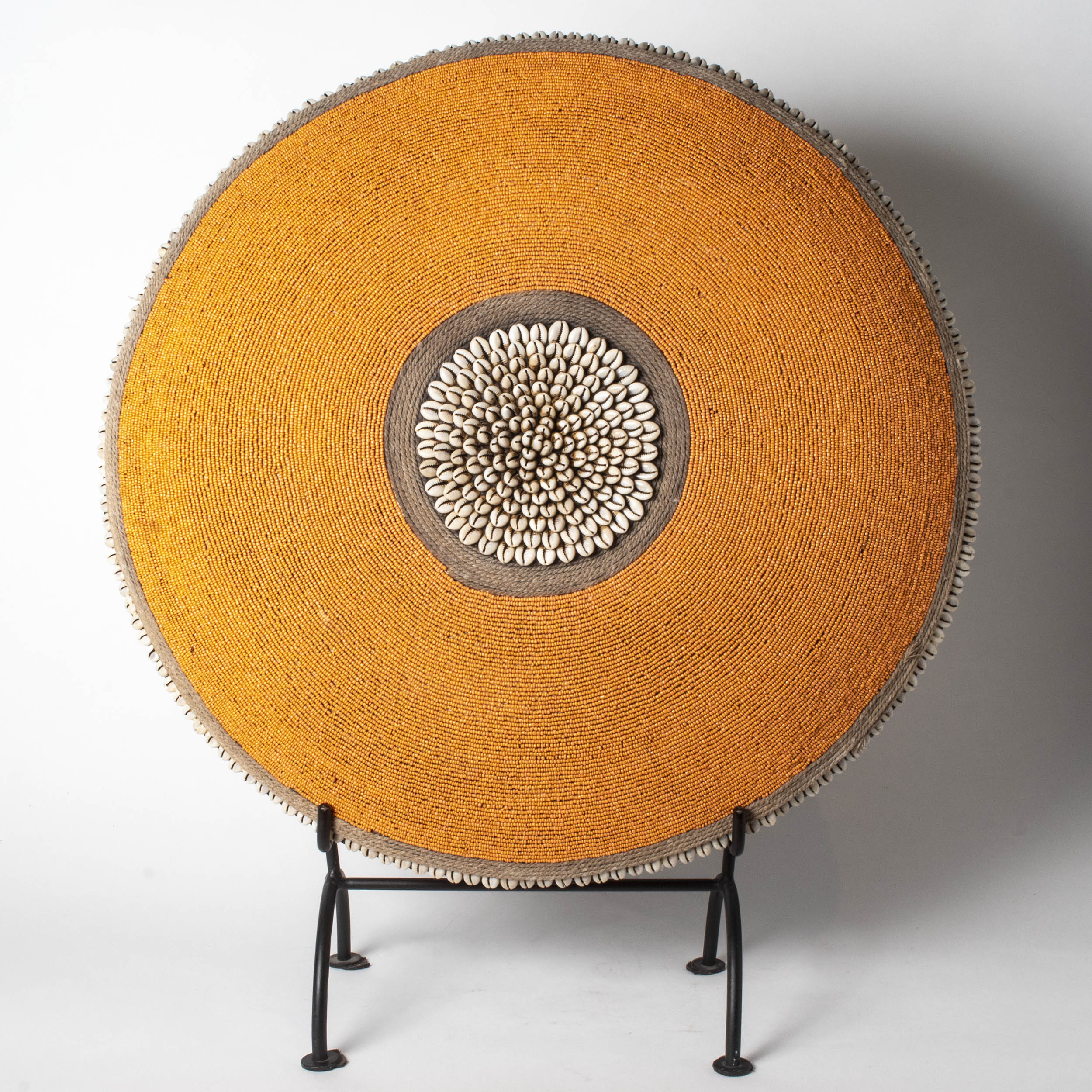 Beaded Dancing Shield, Cameroon.