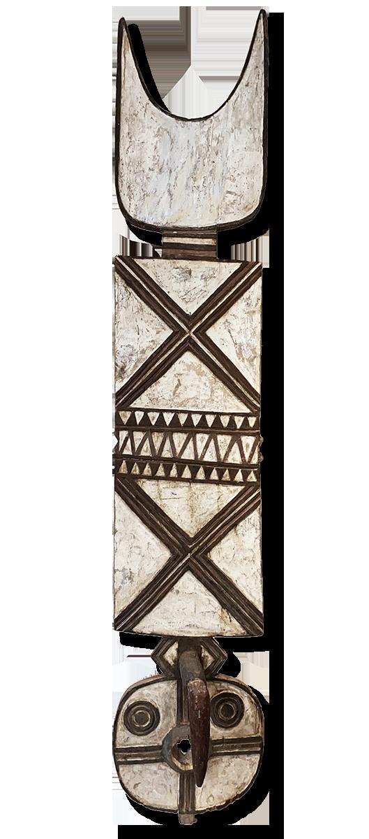 Bobo Buni Plank Mask, Burkina Faso