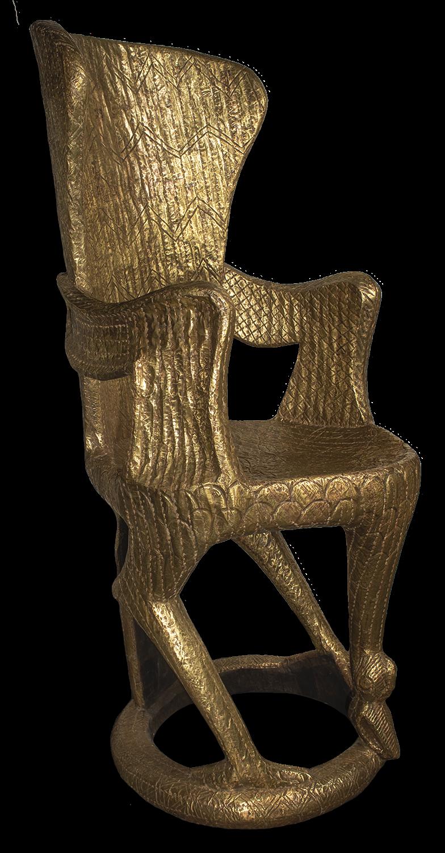 Gold Bemileke Throne, Cameroon