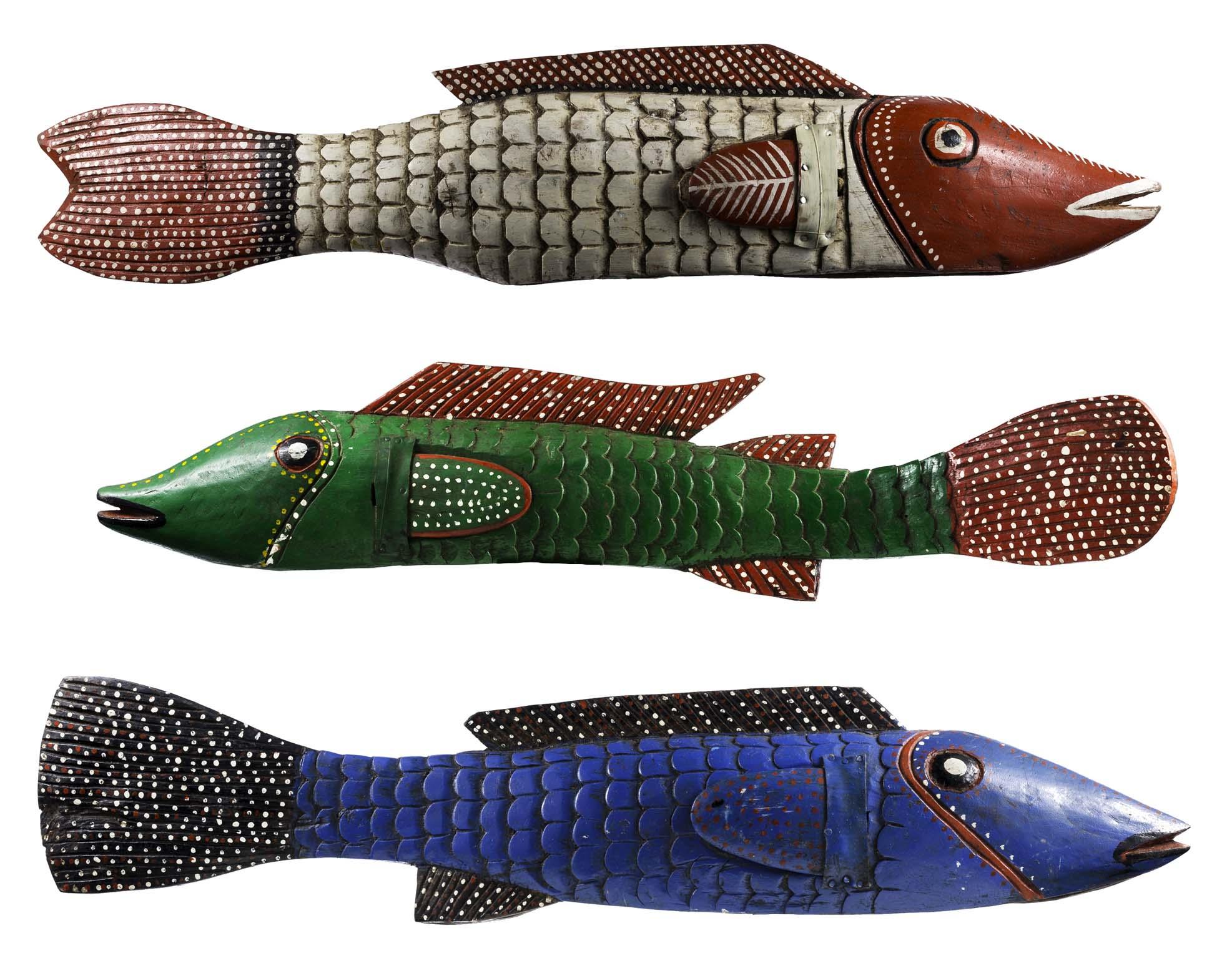 Bozo Fish Puppets, Mali