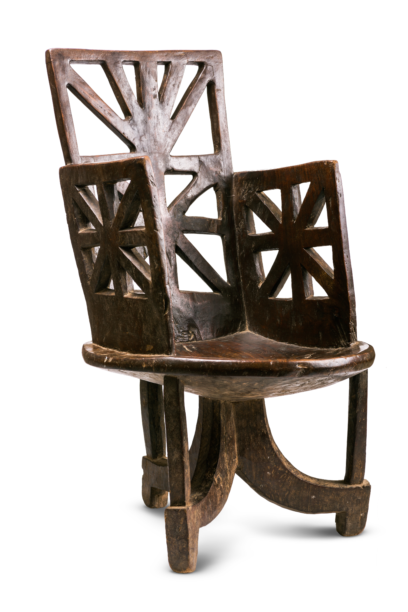 Antique Walega Chair, Ethiopia