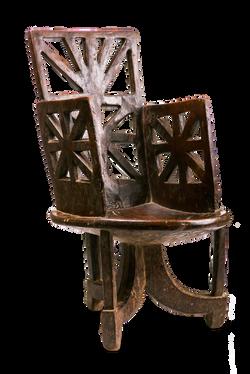 Antique Walega Chair, Ethiopia