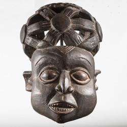 Bamum Helmet Mask, Cameroon