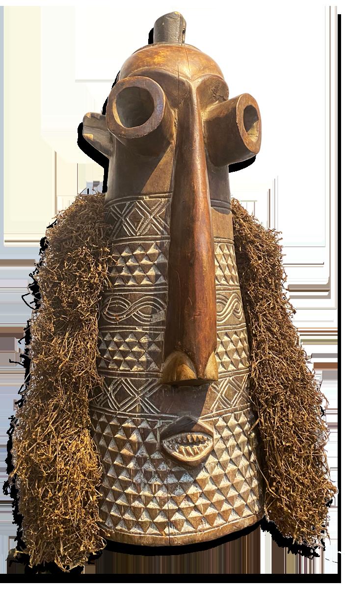 Kuba Mask, D. R. Congo
