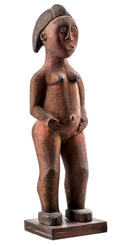 Baule Figure, Ivory Coast