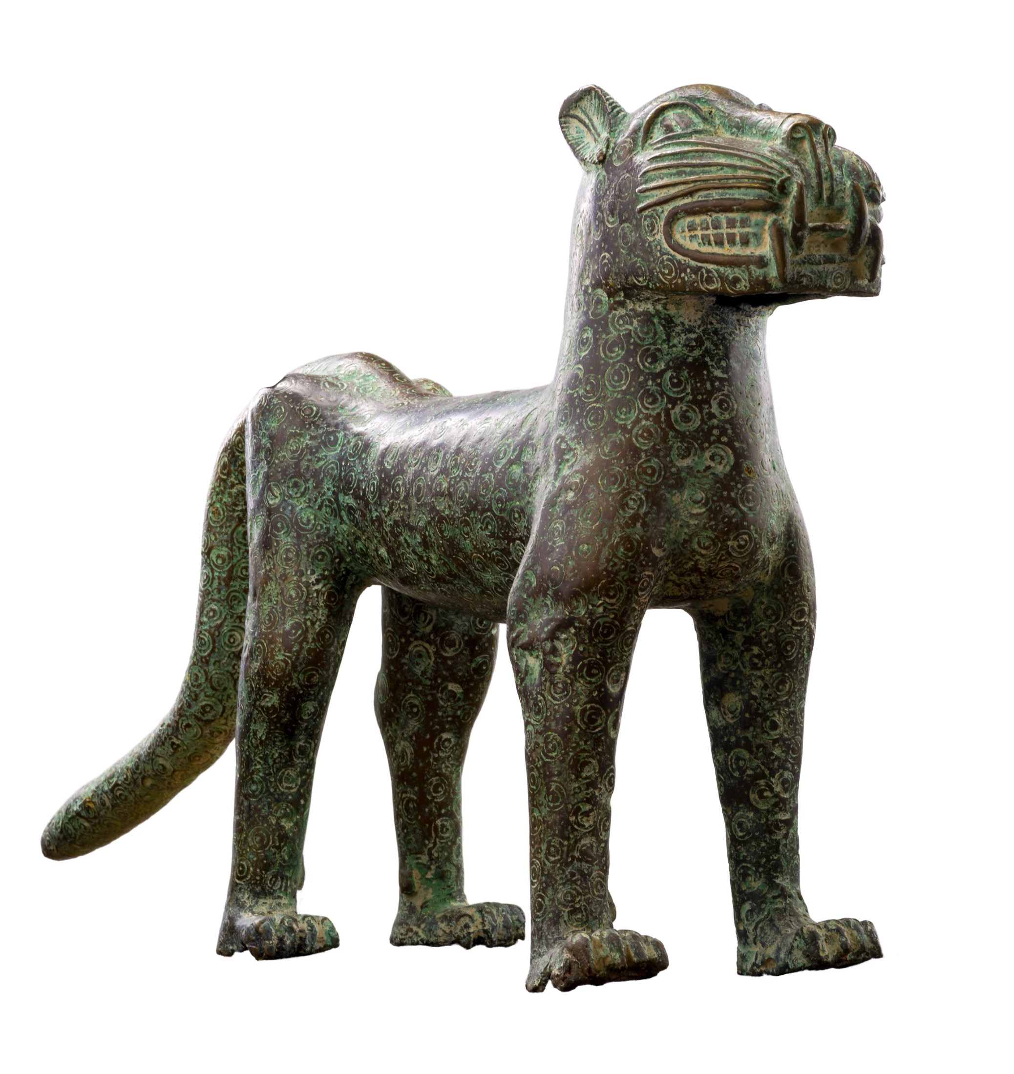 Benin Leopard Bronze