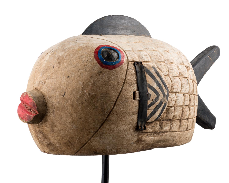 Bozo Fish Puppet, Mali