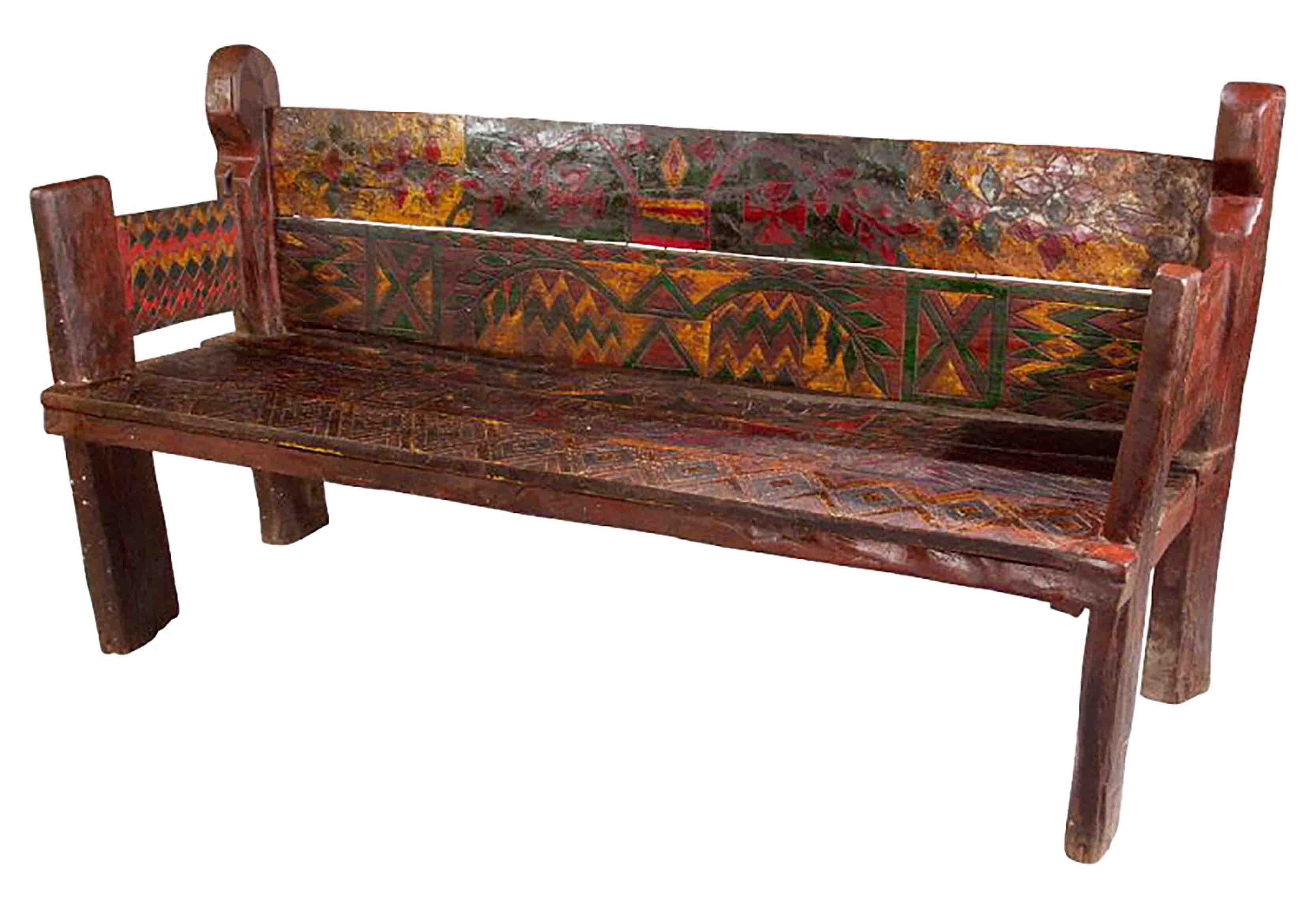 Painted Bench, Ethiopia