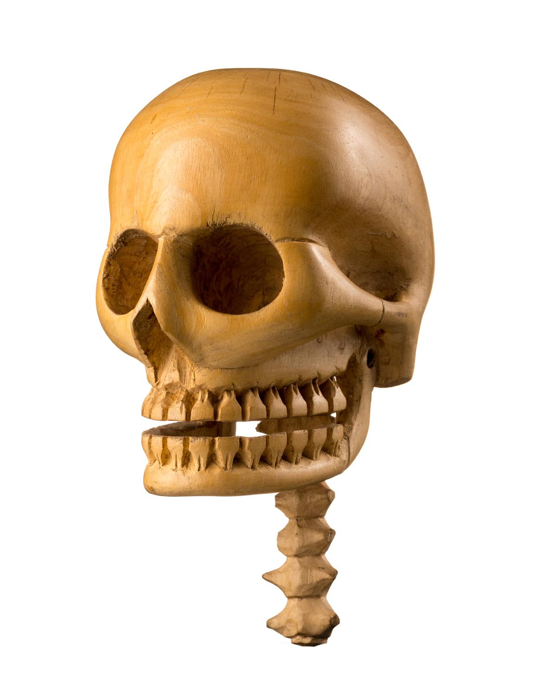 Wooden Skull, Cameroon