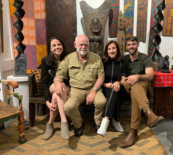 Logan, Brian, Mary and Tuck Gaisford in