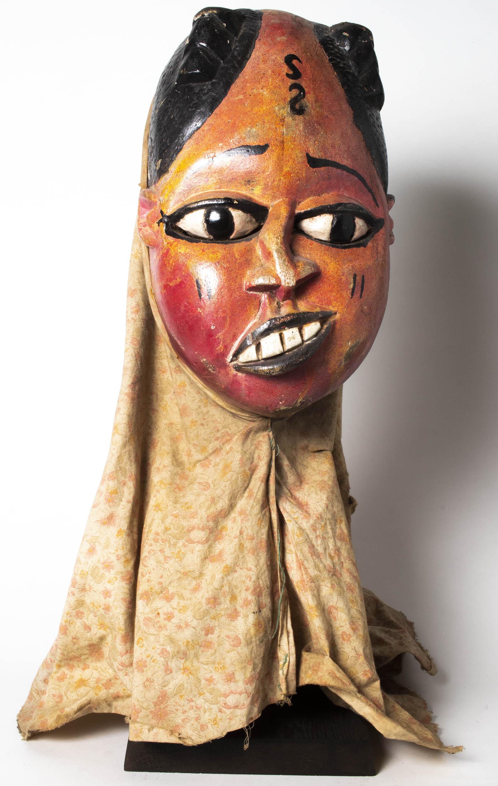 Painted Mask, Nigeria