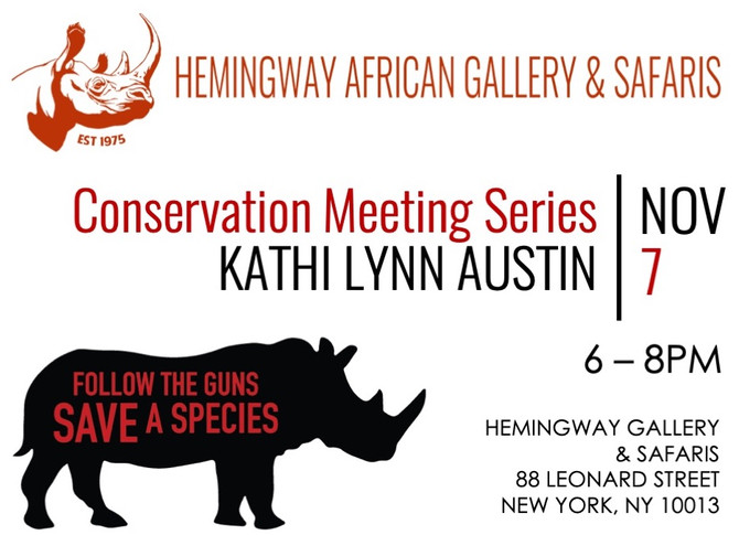 Conservation Meeting Series: KATHI LYNN AUSTIN - Nov 7, 2019
