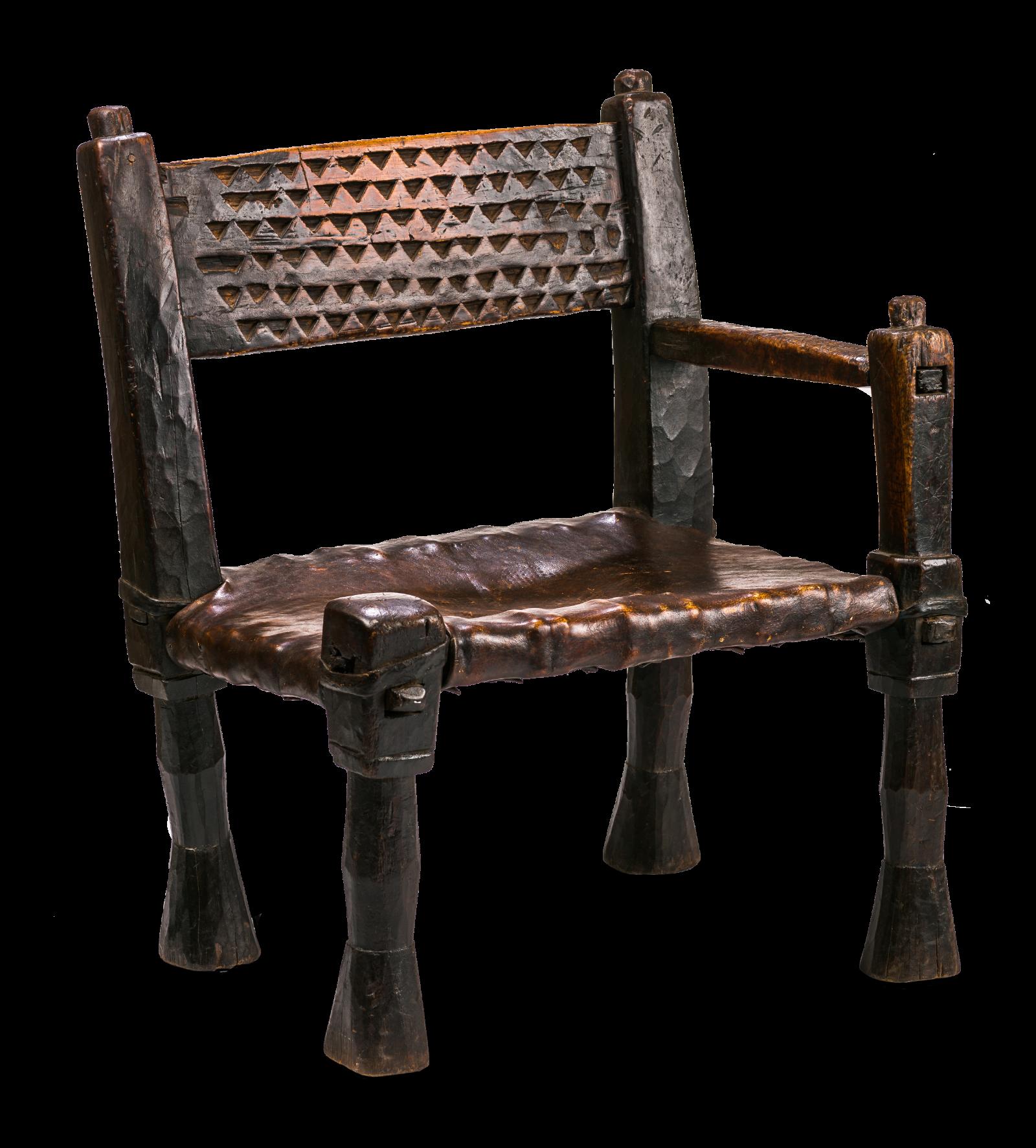 Antique Ethiopian Chair