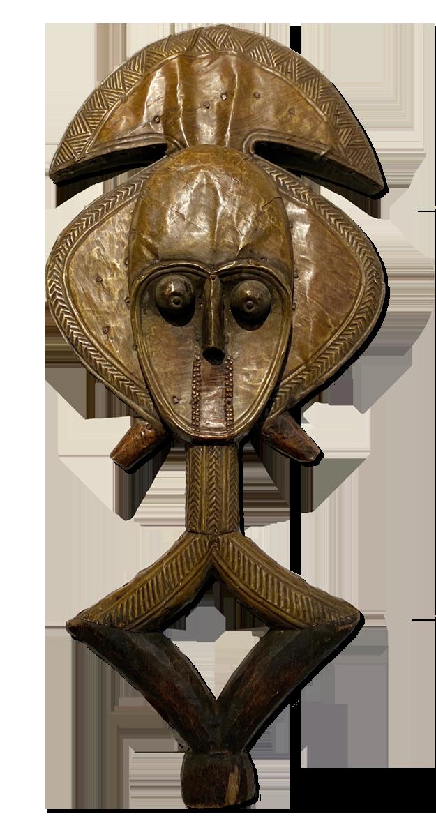 Reliquary Guardian Figure, Gabon