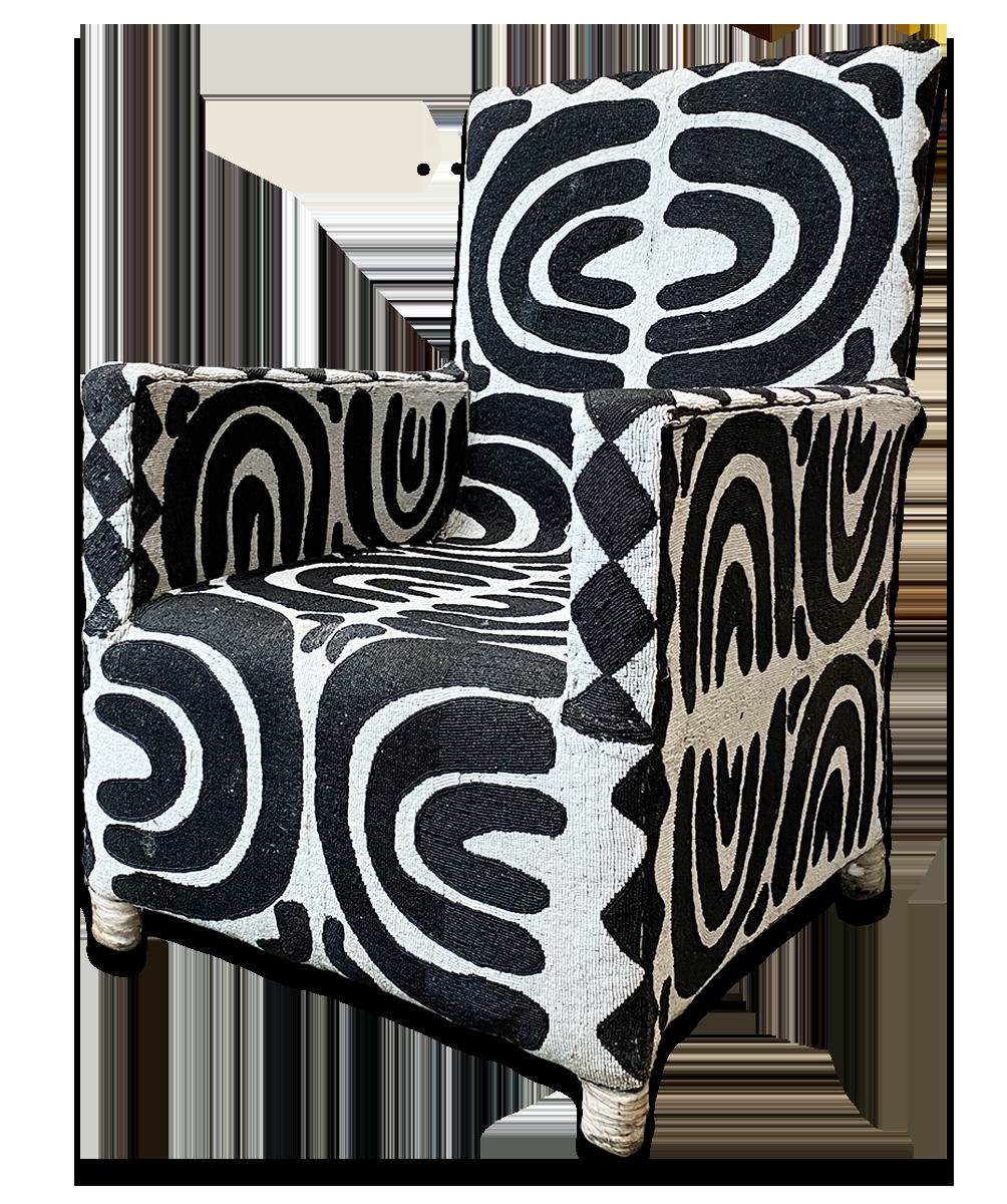 Beaded Chair, Nigeria