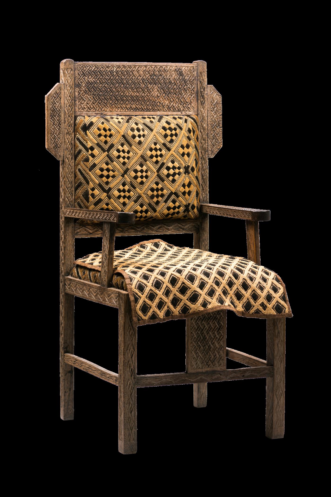 Kuba Chair, D.R. Congo