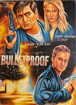 Hand Painted Movie Poster, Ghana