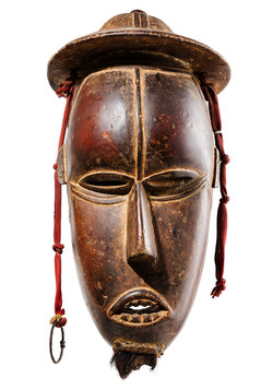 Colonial Mask, Ivory Coast