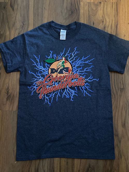 Georgia Thunderbolts Heather Navy T'Shirt